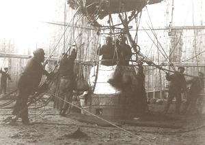 19th Century hot air balloon