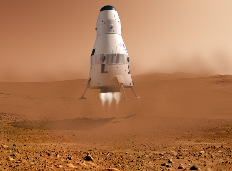 mars landing how fast - photo #12