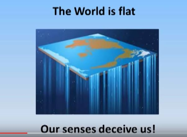 flat earth deception picture