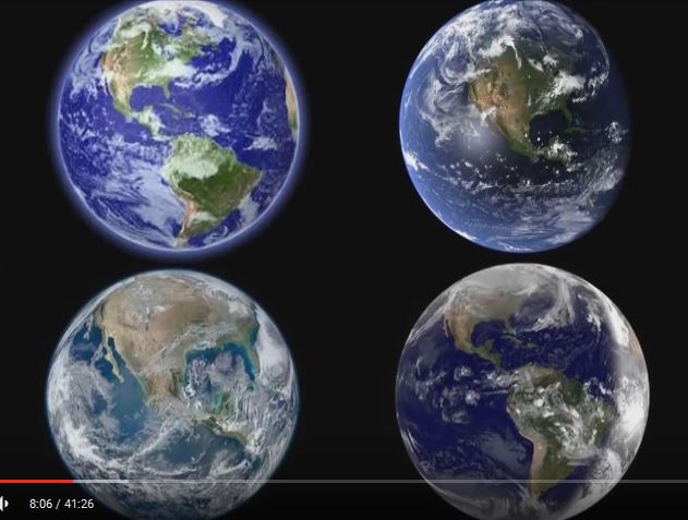Fake pictures of earth