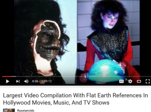hollywood flat earth