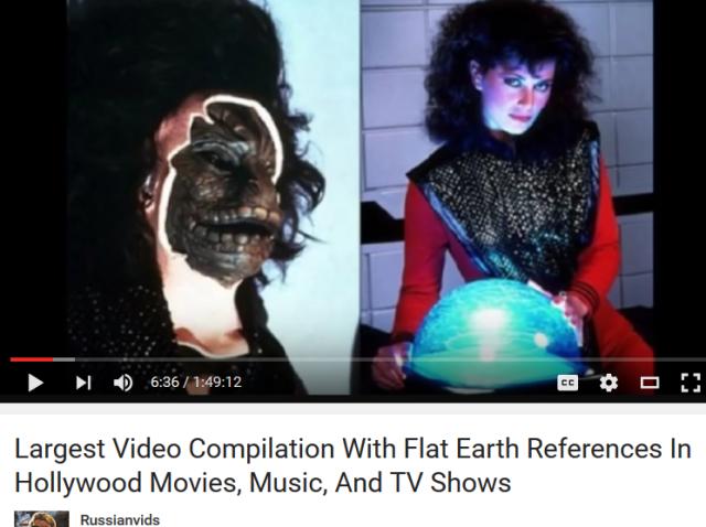 hollywood flat earth