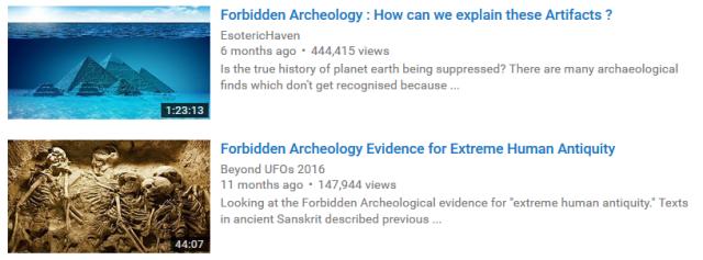 Forbidden-Archaelogy