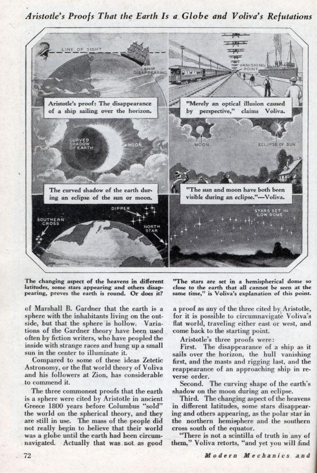 scientific america flat earth