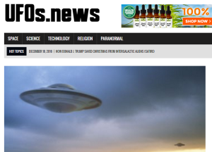 Mike Adams' UFO website.