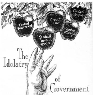 Idolatry of Govt